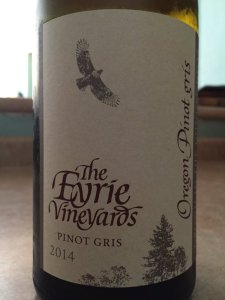 2014 Eyrie Vineyards Pinot Gris