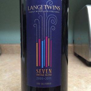 2009 Lange Twins Lodi Cabernet Sauvignon
