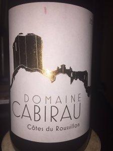 2013 Domaine Cabirau