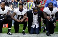 'Bandwagon' Ray Lewis Takes A Knee, But Many Won't Forget His Stance On Kaepernick