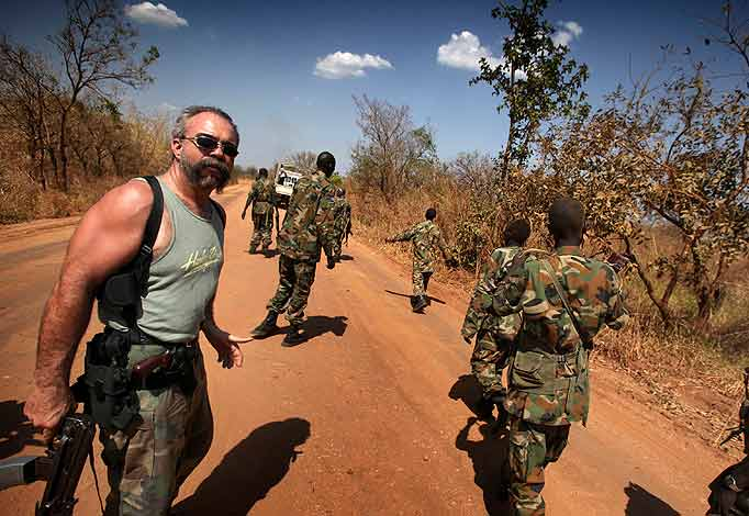 Sam Childers in search of Kony
