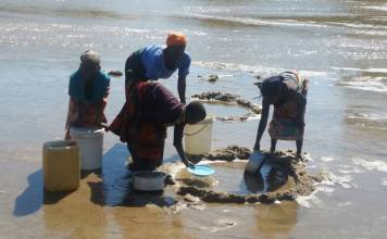 Malawi's water problem. Photo: Henry Mhango/The AfricaPaper