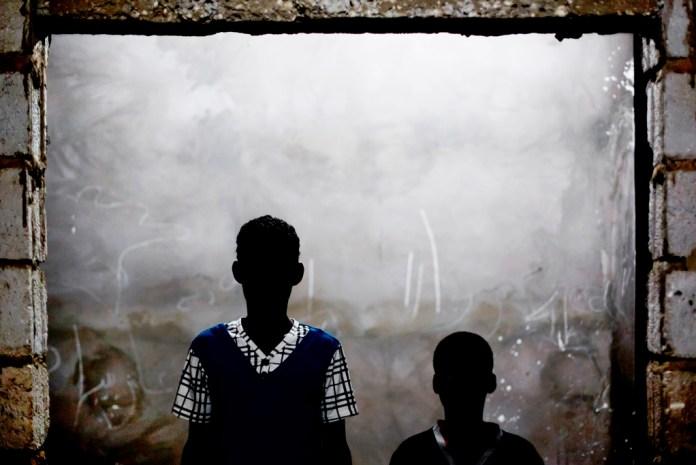 Said and Yarg Salem against Mauritania in Anti Slavery Case . Photo: Michael Hylton/MRG