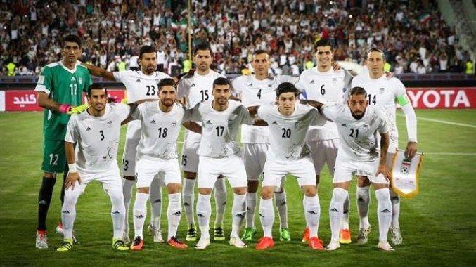 Team Meli, Iran's national football team.