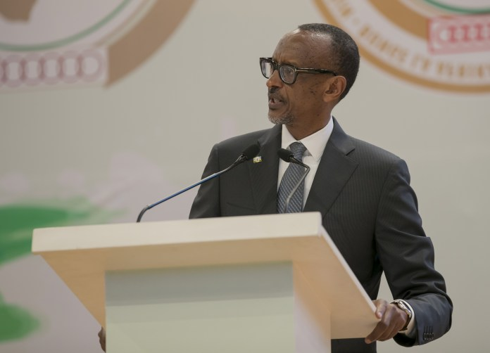 President Kagame addresses Pan-African Parliament. Photo: Anthony A. K. Kamara / The AfricaPaper
