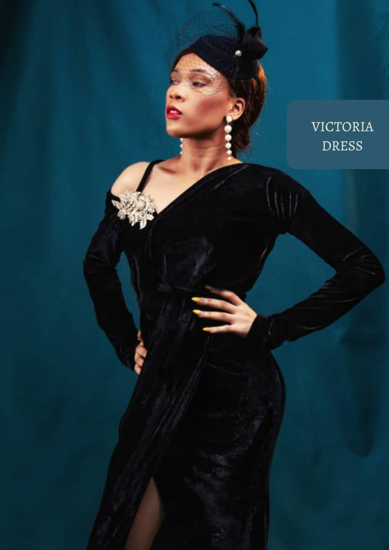 The Afrocentrics - VICTORIA dress