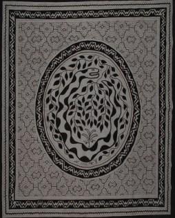 Shibibo Hand-Paintedy Large Tela (Tapestry)