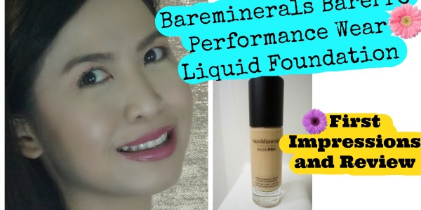 Bareminerals BarePro Liquid Foundation Review