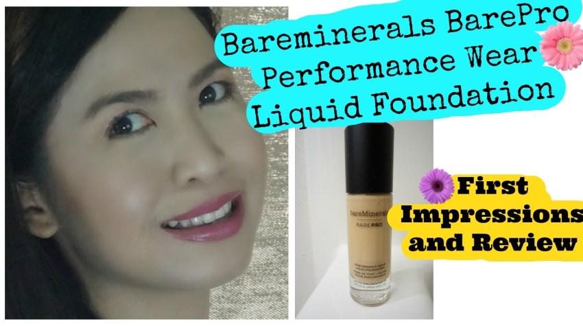 Bareminerals Bare Pro Liquid Foundation Review