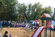 Собрали детей со всех окрестных садов и школ