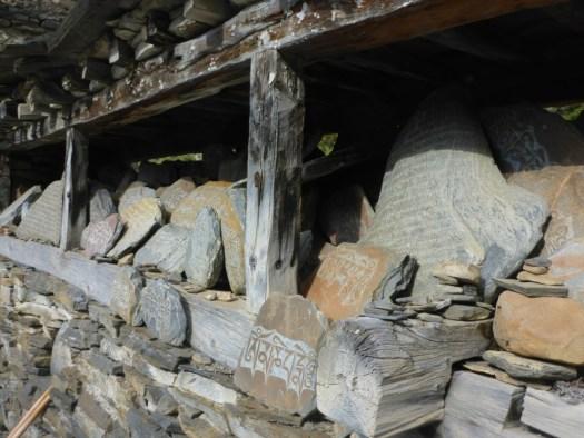 Prayer rocks (mori wall)