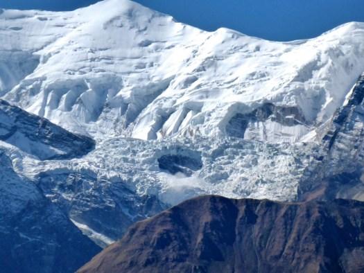 Avalanche - Annapurna Circuit, Cheri Letdar, Nepal