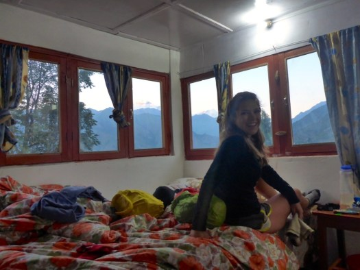 Our Room in Sikha, Nepal.