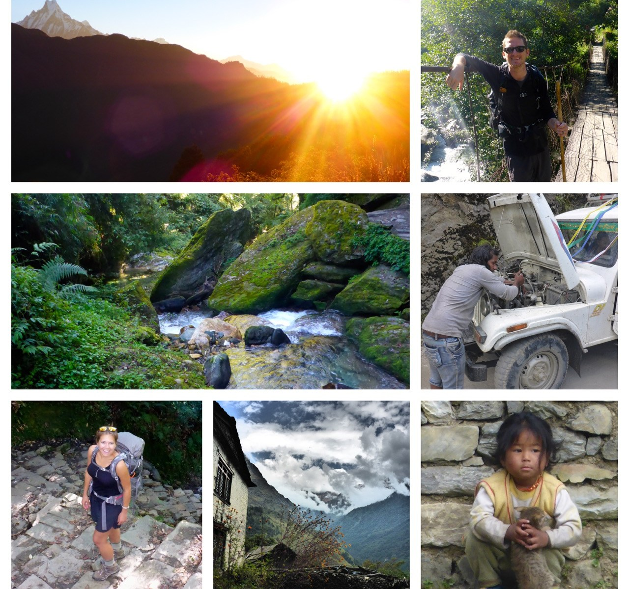 Going Down. Down. Down. Muktinath to Pokhara via Poon Hill