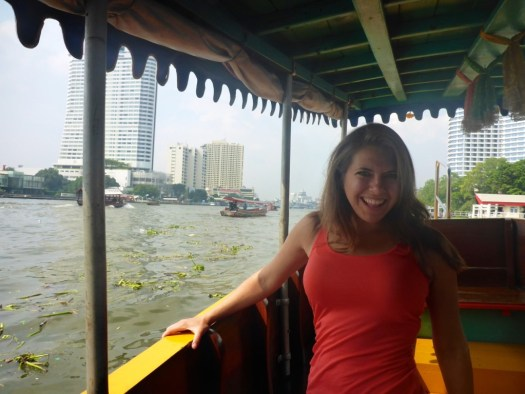 The Boat Tour in Bangkok, Thailand.