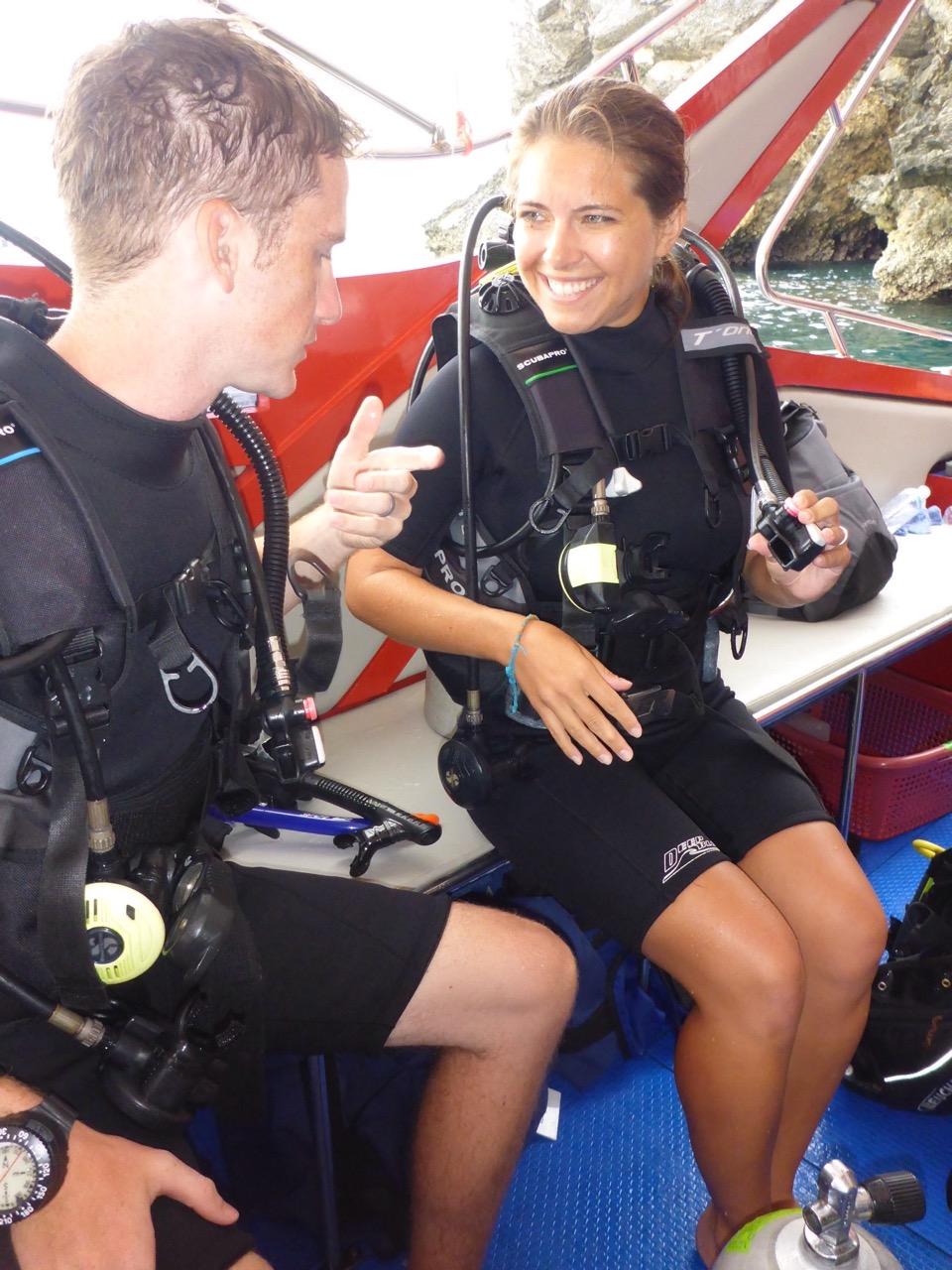 Scuba diving with Phoenix Divers - Koh Lanta, Krabi, Thailand