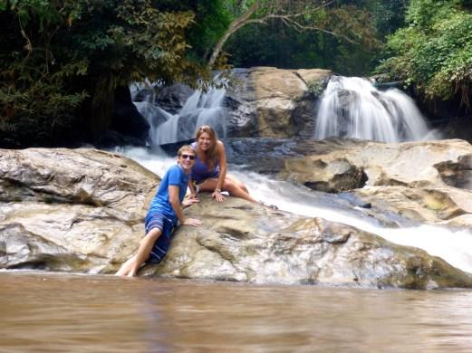 Waterfalls Chiang Mai, Thailand