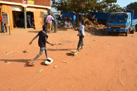 South Sudan - Kids Playing