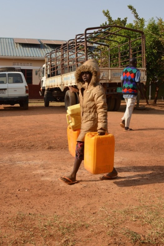 South Sudan - Yes that's a snow suit