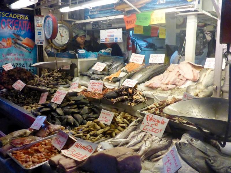 Fish Market Central, Santiago Chile