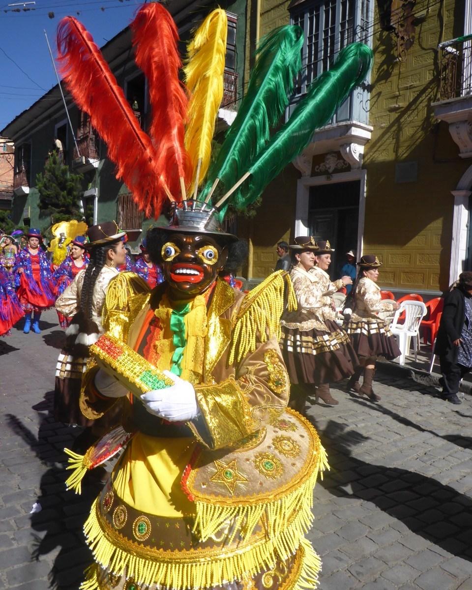 Gran Poder Festival La Paz Bolivia