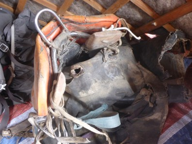 Busted Pack Saddle in Mongolia