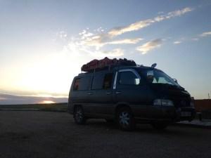Our Mini Bus back to Ulaanbataar, Mongolia.