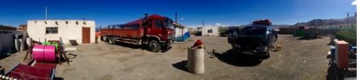 Mongolian bus stop