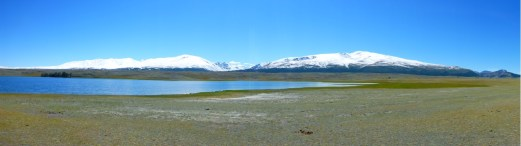 Lake in Western Mongolia