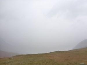 rainy day Tavan Bodg National Park; Western Mongolia