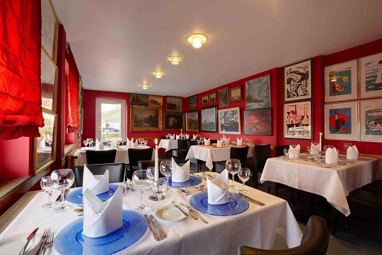 Rickmers Galerie Restaurant auf Helgoland