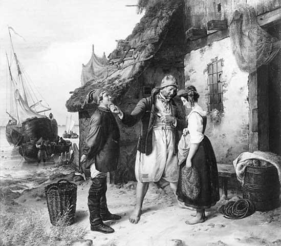 Heiratsantrag_auf_Helgoland_1834