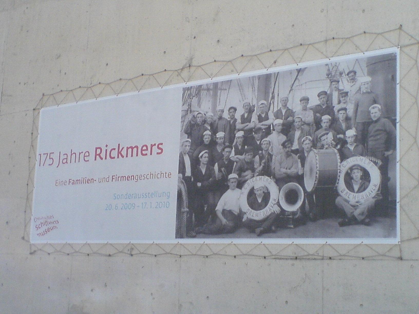 Schiffahrtsmuseum Bremerhaven - 175 Jahre Rickmers