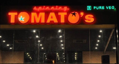 Spinning Tomatoes - One of a kind restaurant in Ahmedabad