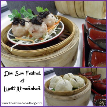 """Hyatt Ahmedabad promises you an sumptuous journey through the fascinating world of dim sum at the """"DIM SUM FESTIVAL"""""""