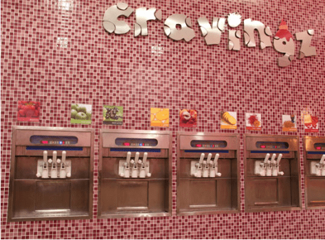 Cravingz: best frozen yogurt in Ahmedabad