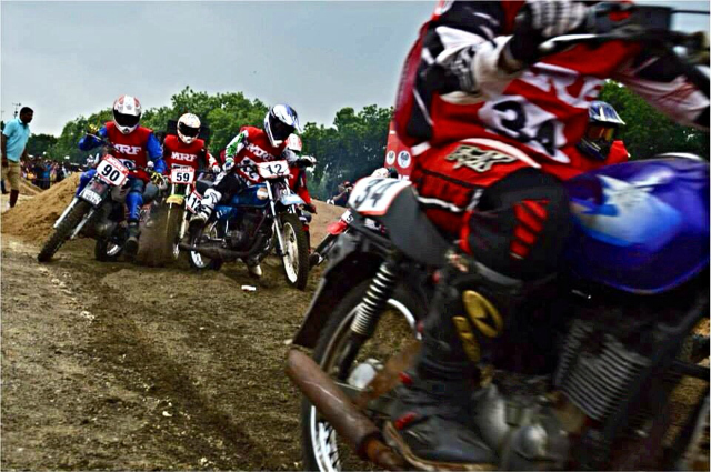 Photo © Disha Patel | MRF MoGrip National Supercross Championship Ahmedabad