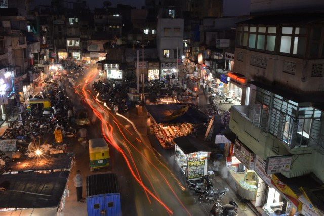 Photo © Jay Thakkar | Photograph of Manek Chawk in Ahmedabad