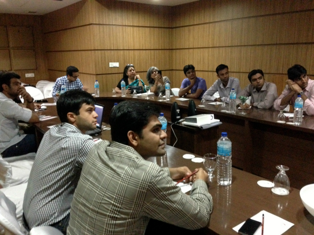 Ahmedabad Book Club in session