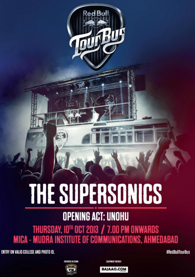 Red Bull Tour Bus West Zone Ahmedabad