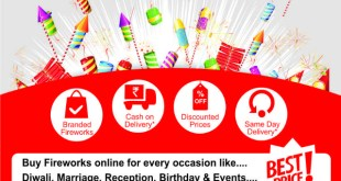 Freworks2Home.com : an easy way for customers to purchase fireworks for Diwali