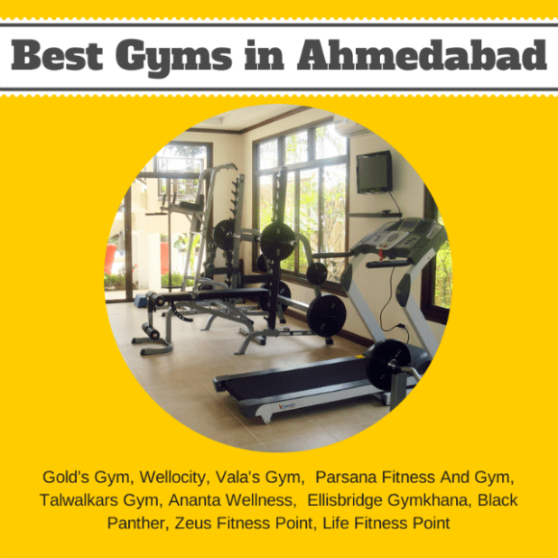 Best gyms in Ahmedabad