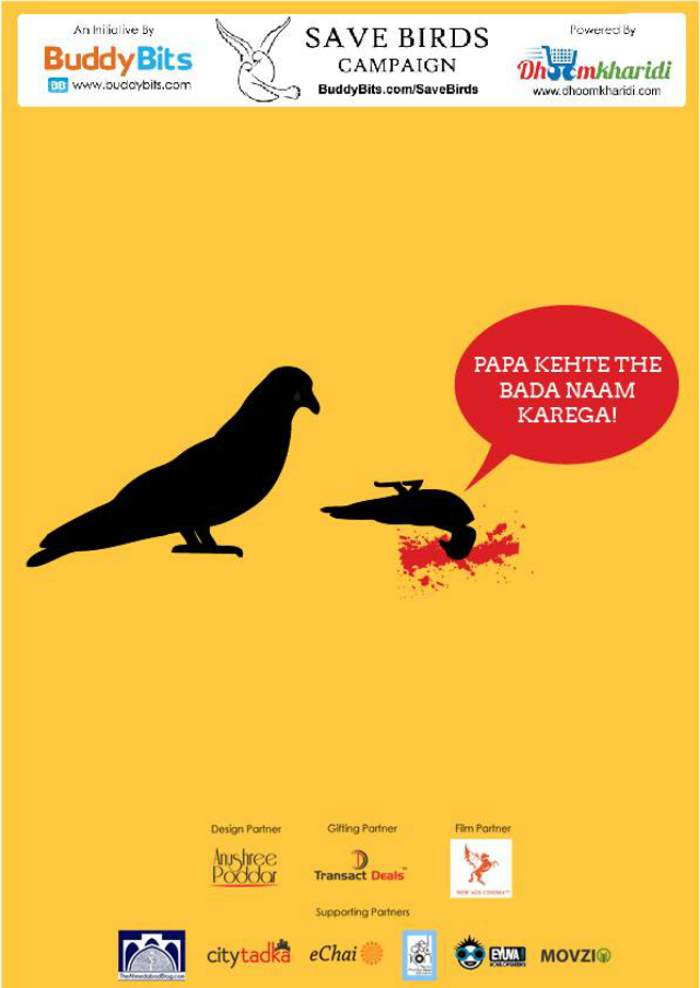 Join the Save Birds Campaign
