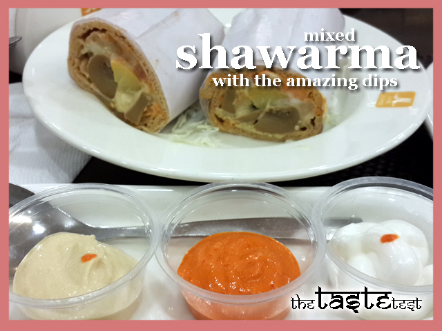Nini's Kitchen in Ahmedabad: Mixed Shawarma