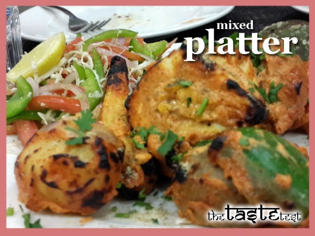 Nini's Kitchen in Ahmedabad: Mixed Platter