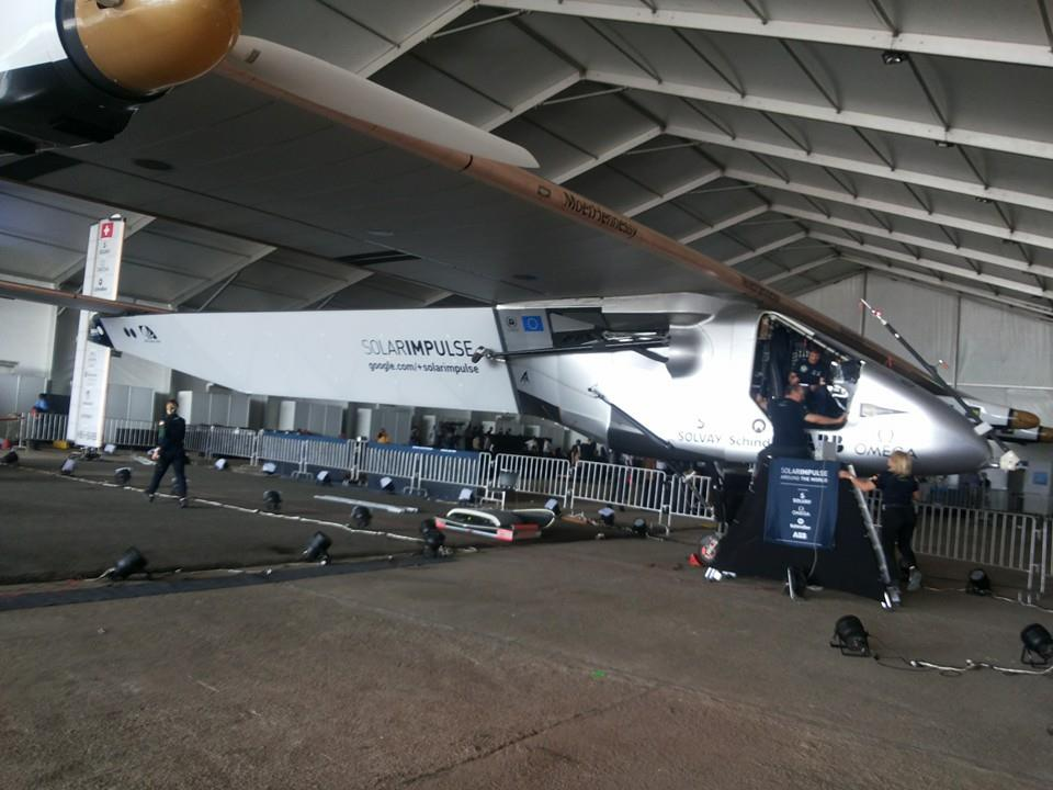 Solar Impulse in Ahmedabad