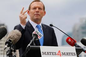 Tony Abbott - never taking the important issues seriously (image from echo.net.au)