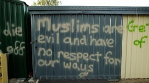 We are told that Islamophobia doesn't exist in Australia. Really? (image from couriermail.com.au)