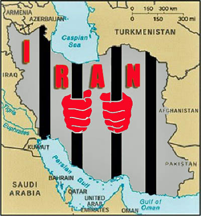 Iran_Map_IRI_Prison