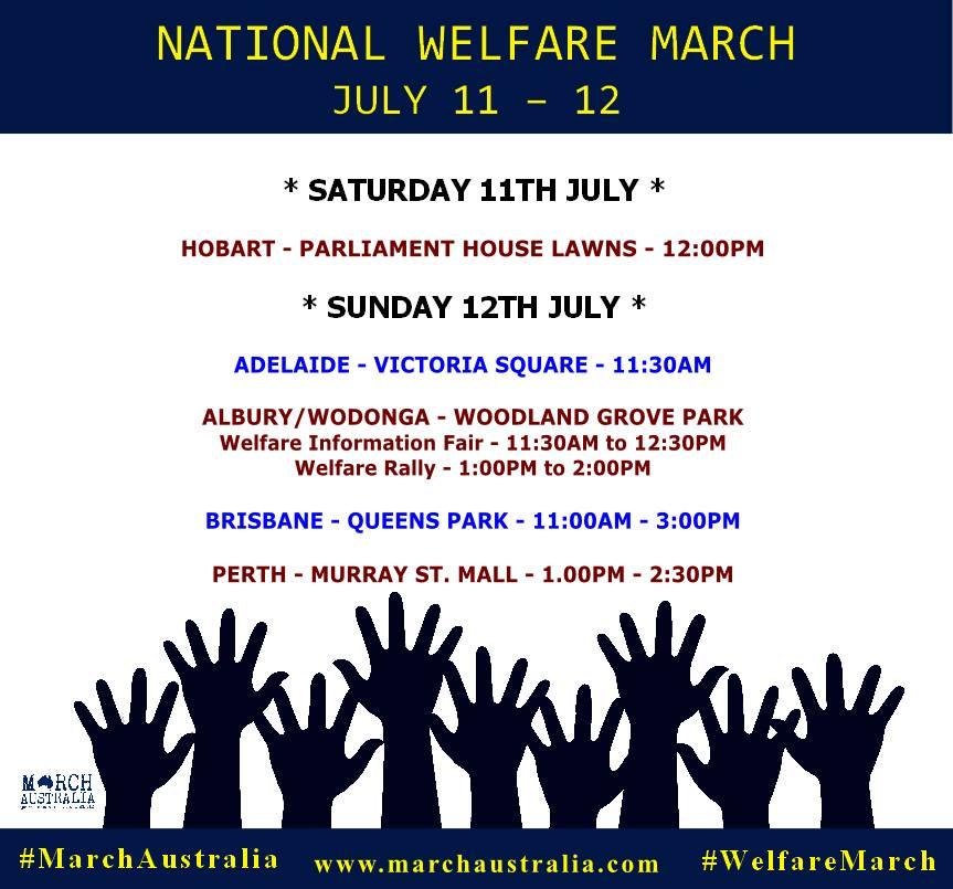 Rallies Locations